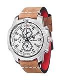 DETOMASO Herren-Armbanduhr Man DiscovererXxl Worldtime Analog Quarz DT-YG102-D