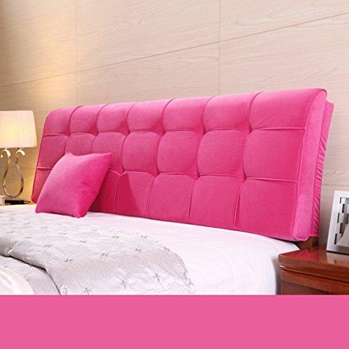 Uus Coussin ergonomique moderne de la lit de la plaquette de la toile grand coussin sans lit de la plaquette de la plaquette de la plaquette de la plaquette de la lit grand coussin chauffant de la tête 58 * 190 cm