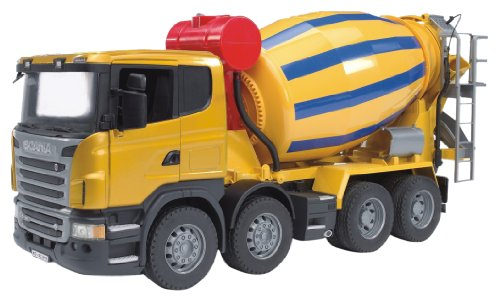 Image of Bruder 3554 Scania R-Series Cement Mixer Truck
