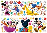 Disney - Set de Stickers muraux Mickey Mouse Club