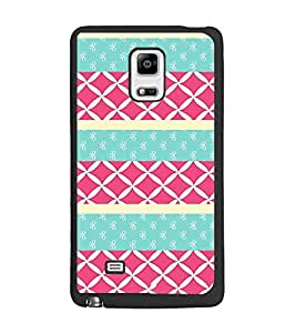 PrintDhaba Pattern D-3786 Back Case Cover for SAMSUNG GALAXY NOTE 4 (Multi-Coloured)