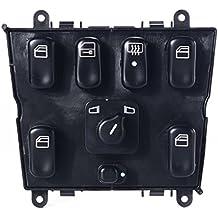 XCSOURCE Interruptor Control Maestro Ventana Eléctrica Benz 1998-2003 ML500 ML230 MA162