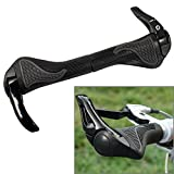 Fahrrad Griffstücke aus Gummi & Aluminum Barend, für Mountainbike / Rennrad in schwarz