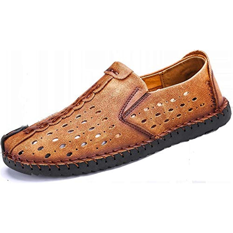 sports shoes d29a7 4389d Qiusa Qiusa Qiusa Eacute vider Les Chaussures l eacute g egrave res pour  Les Hommes color eacute    Marron, Taille   EU 42 - B07HCTVPJT - 32aa8b