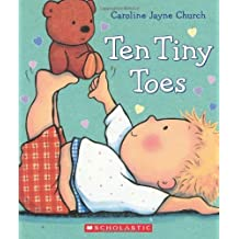 Ten Tiny Toes by Church, Caroline Jayne (2014) Board book