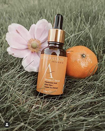 Generation Skincare – Serum Facial Vitamina C y Ácido Hialurónico – El Mejor Serum Vitamina C y Acido Hialuronico…
