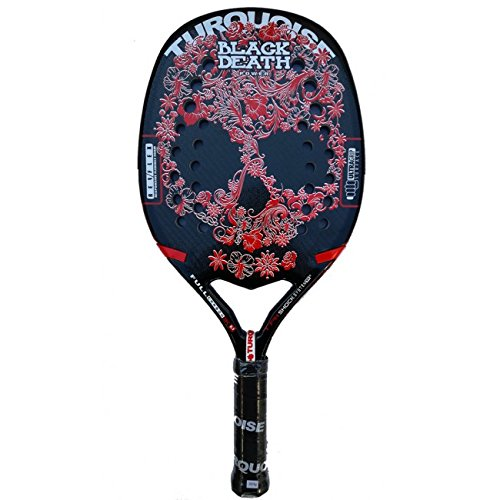 TURQUOISE RACCHETTA DA BEACH TENNIS BLACK DEATH 2017
