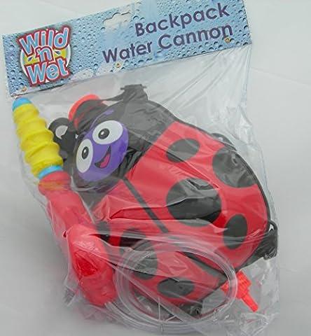Wild N Wet Kinder Rucksack mit integrierter Wasserpistole (1Design/Farbe können abweichen) (1 Soaker)
