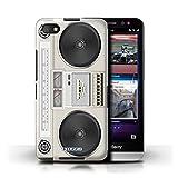 Stuff4 Hülle / Hülle für Blackberry Z30 / Boombox Muster