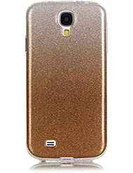 Apple iPod Touch 6 Case, BONROY® Samsung Galaxy S4 i9500 Bling Blings Case Bumper Transparent Soft Gel Shockproof Case Resist Protection Shell for Samsung Galaxy S4 i9500