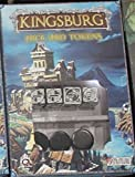 Q-Workshop SKIN05 - Kingsburg Würfelset, schwarz