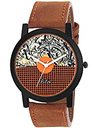 Relish RE-S8113BT Black Slim Analog Watches For Men's And Boy's