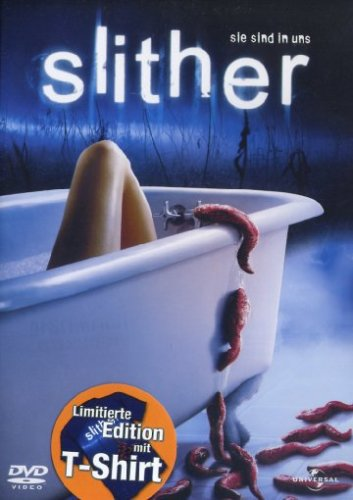 Slither - Sie sind in uns (Limited Edition als Backpack mit T-Shirt) (Fantasy-film-t-shirt)
