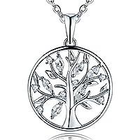 [Sponsored]JO WISDOM Women Bracelet,925 Sterling Silver Tree of Life Link Bracelet,20cm