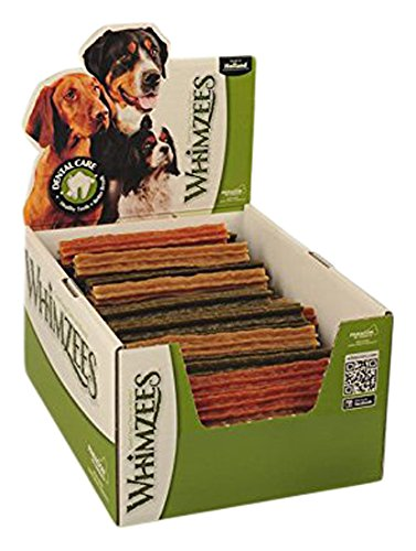 Whimzees stix cani snack, grande, 50-Piece - Medium