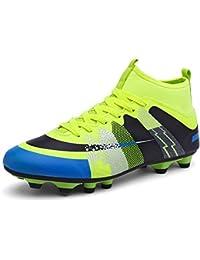 c56a25ec3dbef Easondea Botas de Fútbol Zapatos de Fútbol Dedicados FG Spike Grapas de  Fútbol Profesional Unisex Niño