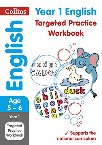 Year 1 English Targeted Practice Workbook (Collins KS1 Revision and Practice) por Collins KS1