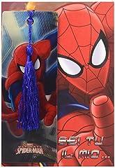 Idea Regalo - Hasbro Marvel Spider-Man Spiderman - Biglietto D'Auguri con Segnalibro Sei Tu Il Mio..