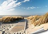 ARTBAY Un Camino al Mar - Poster XXL - 118,8 x 84 cm | Playa | Póster de Naturaleza |Calidad Superior
