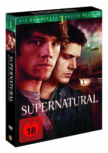 Supernatural - Die komplette dritte Staffel [5 DVDs] (Callaway Komplett-set)