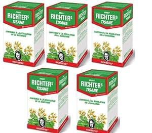 Tisane Richters TRANSIT - 5 boites Cure de 3 mois