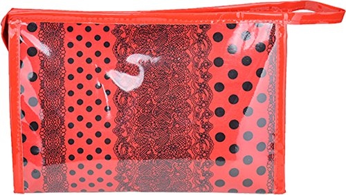 ment Cosmetic Bag - Rot / Schwarz Rockabilly (Punk Goth Make Up)