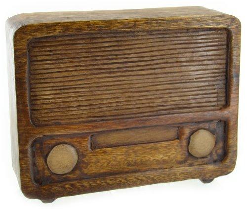 Radio de madera Harvey Makin (24 cm) en
