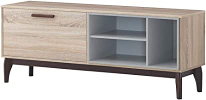 Maison Concept Brames TV Cabinet for  65 inch TV - Beige & Grey (W400 x H580 x D1500 mm)