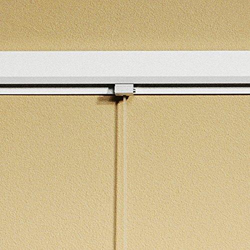 Legamaster 7-650110 Exporail Aufhängesystem, Wandschiene, 120 cm, weiß