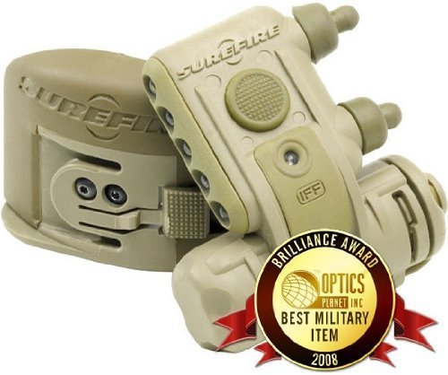 Surefire Helmet Light Tan, Rd/Wh/IR LEDs With Molle HL1-C-TN KIT01 by SureFire