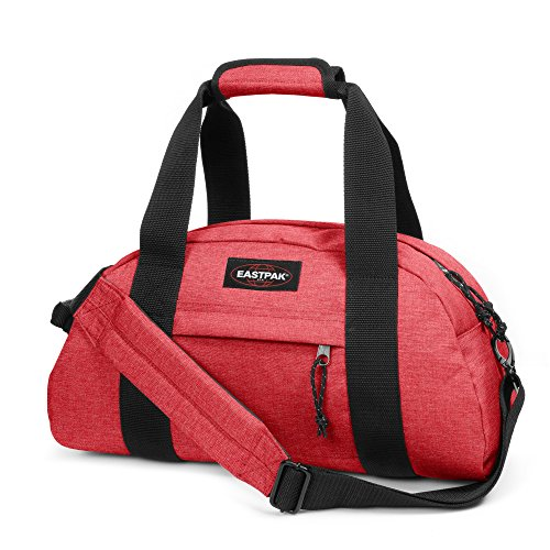 Eastpak Compact Bolsa de Viaje, Diseño Eat Lobster, 23 Litros, Color Rojo