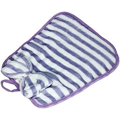 rowzy (TM) Fashion Toallas de mano de rayas impreso cocina afelpado suave gamuza de para colgar trapos de cocina toalla de mano #