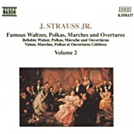 Strauss II, J.: Waltzes, Polkas, Marches And Overtures, Vol. 2