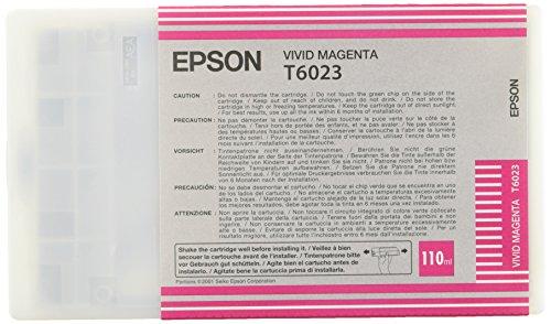 Epson T6023 Cartouche d'encre d'origine Vivid Magenta110Ml