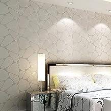 Alger Vliesstoffe Beflockungsprozess Schlafzimmer Wohnzimmer TV Hintergrund  3D Wandgemälde Schallabsorption Schallschutz Mode Minimalistischen Stil 0,