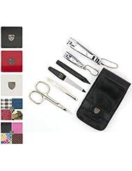 TROIS EPÉES | Kit / set / ensemble / trousse de manicure - manucure - pédicure - beauty / beaute - soins des ongles / personnels / mains / pieds | 6 pièces | marque de qualitè (884015)