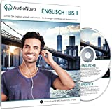 AudioNovo Englisch I ? II: Schnell und einfach Englisch lernen mit dem Audio-Sprachkurs für Anfänger und fortgeschrittene Anfänger (2 CDs à 720min MP3-Audio, Sprachkurs Englisch) -