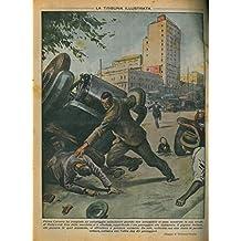 Primo Carnera ha compiuto un salvataggio eccezionale guando due automobili si sono scontrate in una strada di Hollywood...il gigante italiano, sollevata con una mano la pesante vettura, estraeva con l'altra due dei passeggeri.