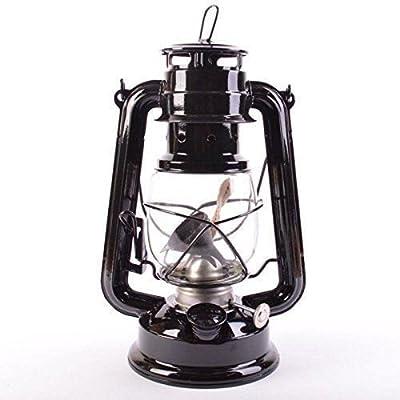 28cm Retro Oil Lantern Outdoor Camping Kerosene Hurricane Lamp by icase4u