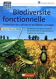 Biodiversité fonctionnelle par Johanna Villeneuve Chasset