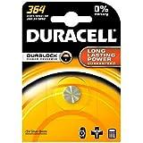 DURACELL 364 / AG1, SR621, LR621 etc. 1.5 Volt Silver Oxide Button Cell