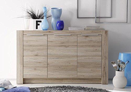 Credenza Per Soggiorno : Mobile moderno abel madia rovere credenza per soggiorno di design.