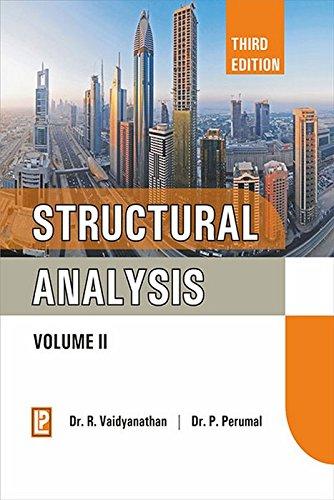 Structural Analysis: Volume II par Dr. Ramachandran Vaidyanathan