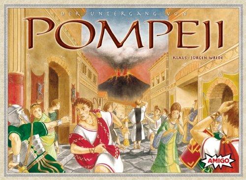 Amigo 4310 - Untergang von Pompeji (Vulkan-brettspiel)