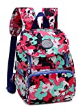 Keshi Nylon Nouveau style Sac Cartable College Fille Adolescents Sac à Dos...