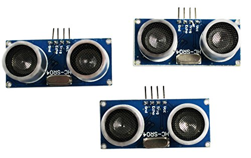 com-four® HC-SR04 Ultraschall Modul Entfernungsmesser Sensor für Raspberry Pi und Arduino (3 Stück)