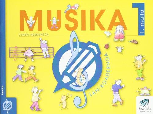 Txanela 1 - Musika 1. Lan-koadernoa 1 - 9788483318768
