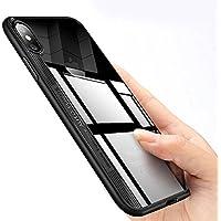 Funda iPhone X, innislink Cover Silicona iPhone X TPU Bumper Case Ultra Slim Ultra-Delgado Carcasa Acrílico Antigolpes Anti-Rasguño Protectora Original Caso para Apple iPhone X - Negro