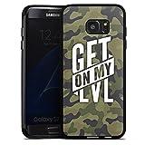 Samsung Galaxy S7 Edge Hülle Silikon Case Schutz Cover Montanablack Fanartikel Merchandise Get On...
