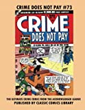 Crime Does Not Pay Comics #73